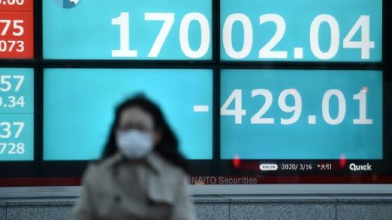 Las bolsas mundiales y el petróleo se hunden por el coronavirus