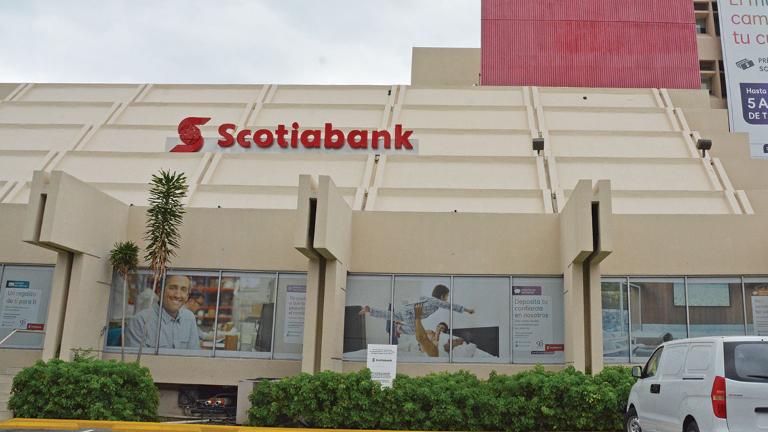 Cierra Scotiabank temporalmente 34 sucursales y 9 agencias prevención Covid-19