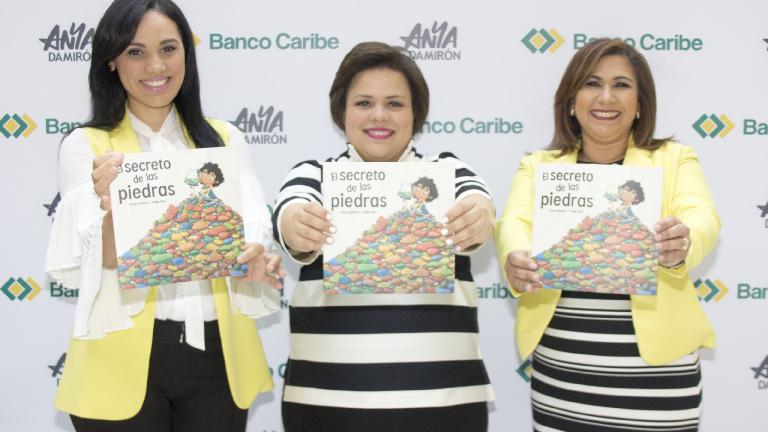 Presenta Banco Caribe libro infantil incentiva ahorro y valores