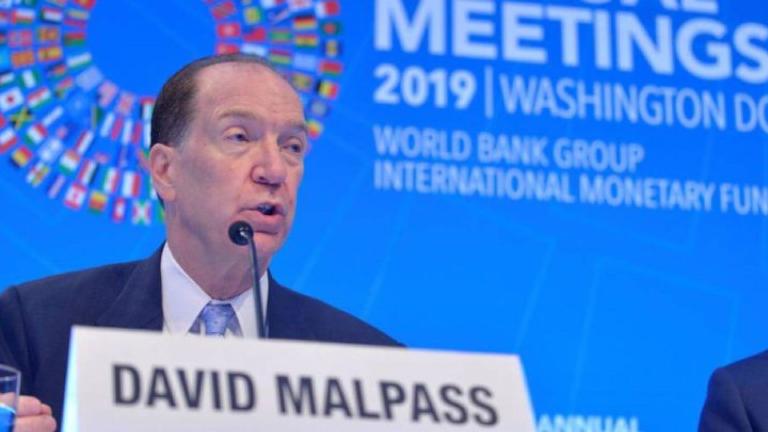 Banco Mundial y FMI dispondrán recursos para abordar impacto COVID-19