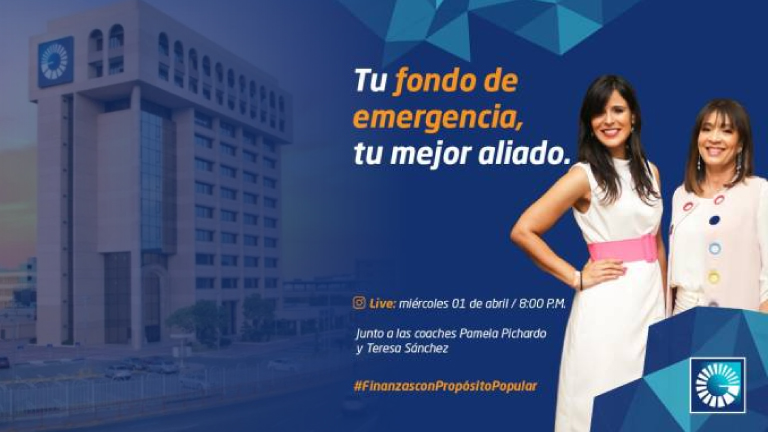 Banco Popular impartirá educación financiera a través de live en Instagram