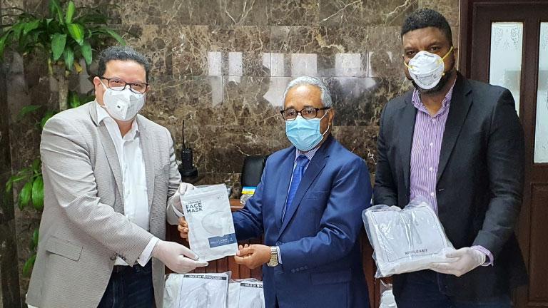 Dona SICPA artículos uso médico aMinisterio Salud Pública