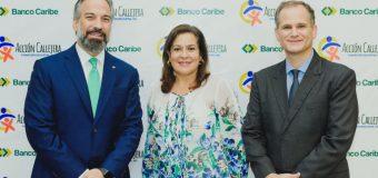 Dona Banco Caribe alimentos 150 familias programas Acción Callejera