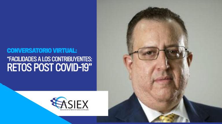 Tratan ASIEX y DGII facilidades contribuyentes ante pandemia