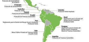 Mapa de avances de América Latina y el Caribe en Finanzas Sostenibles