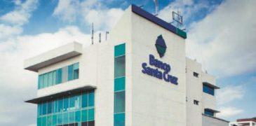 Ratifica Fitch Ratings calificación  A-(dom) al Banco Santa Cruz