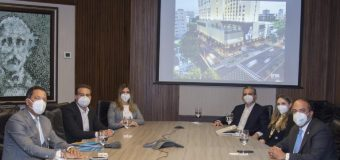 Ejecutivos del Grupo RCD Hotels visitan administrador de Banreservas