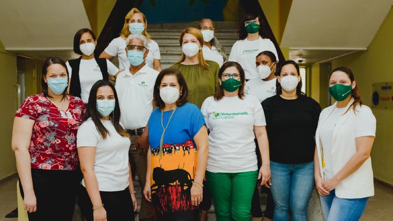 Contribuye Banco Caribe prevenir COVID niños Acción Callejera