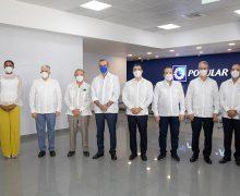 Presidente de la República visita nueva oficina del Popular en Bávaro