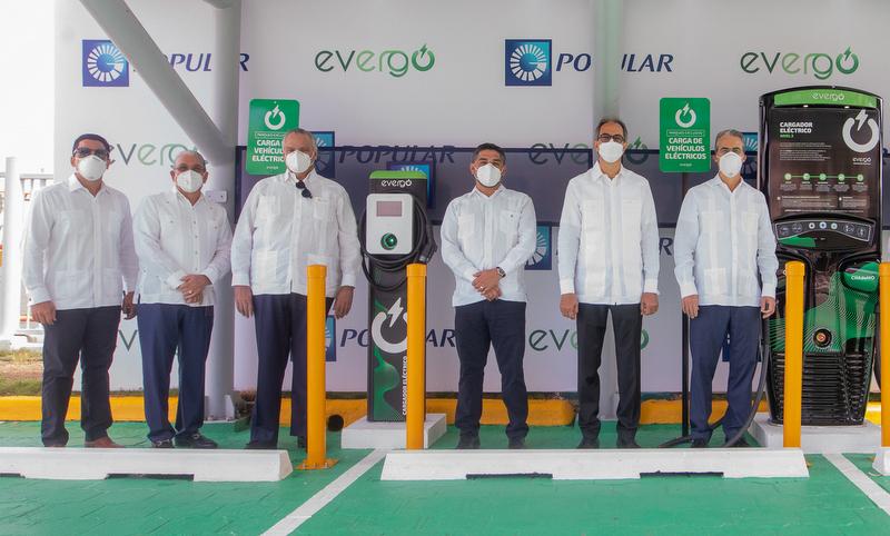 En Torre Popular inauguran primera estación carga Evergo