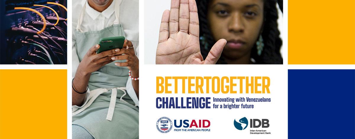 BID y USAID anuncian  soluciones emprendedoras ganadoras del desafío juntos es mejor