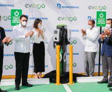 Instala Banreservas estaciones Evergo para vehículos eléctricos