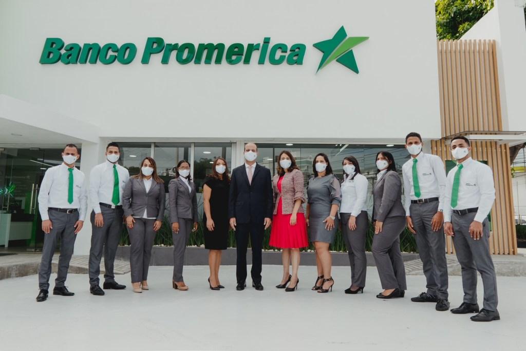 Inaugura Banco Promerica moderna sucursal en El Vergel