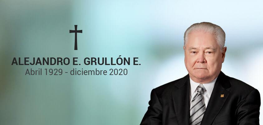 Fallece banquero Alejandro E. Grullón E.