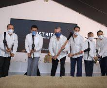 Presidente Luis Abinader da primer picazo del proyecto mixto DISTRITO PIANTINI