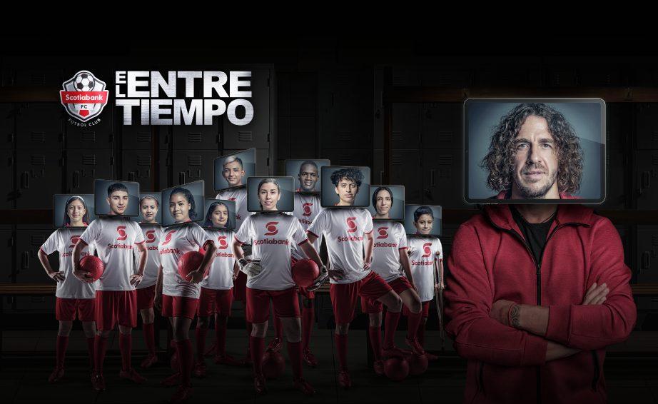 Presenta Scotiabank «El Entretiempo» nueva campaña regional Fútbol