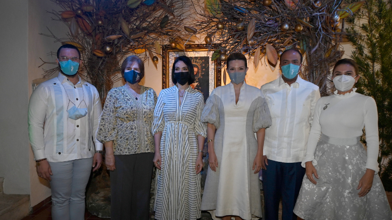 Inaugura Voluntariado Banreservas exposición arte sacro