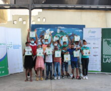 Apoyan Banco LAFISE y Fundacion Zamora Teran educación 90 niños Villas Agrícolas