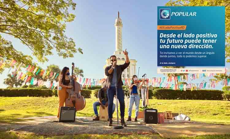 """Campaña del Banco Popular """"El lado positivo"""" es reconocida localmente"""