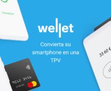 Llega a España Wellet para convertir el móvil en una TPV