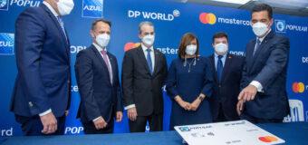 Pagos con tarjeta aumentan 62% terminal Caucedo tras alianza DP World, Mastercard, Popular y Azul