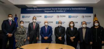 Ratifican Grupo Popular y PUCMM colaboración formación especializada RSE y sostenibilidad